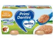 Primi Dentini Carne Primi Dentini vitello in pezzettini Confezione da 160 g ℮ (2 vasetti x 80 g) su My Mellin Shop