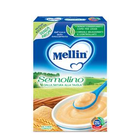 Creme di Cereali Crema semolino Confezione da 200 g ℮  su My Mellin Shop