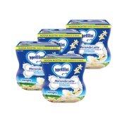 Merende 4x Merenda latte e vaniglia 200 g e 4x Merenda latte e vaniglia 200 g e su My Mellin Shop