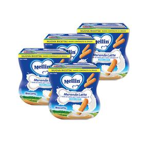 Merende 4x Merenda latte e biscotto 200 g e 4x Merenda latte e biscotto 200 g e su My Mellin Shop