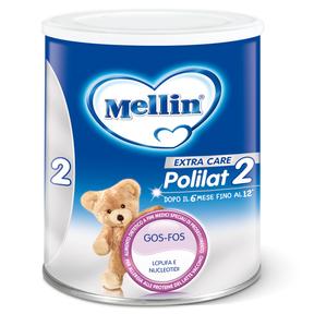 Latte di partenza Mellin Polilat 2  1 confezione da 400 g su My Mellin Shop