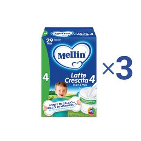 Kit convenienza latte Kit Convenienza Mellin Latte Crescita 4 in Polvere 1 Kit = 3 Confezioni da 1,2 kg ℮ su My Mellin Shop