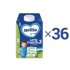 Kit convenienza latte Kit Convenienza Mellin Latte Crescita 3 Liquido 0,5 l 1 Kit = 36 Bottiglie da 500 ml ℮ su My Mellin Shop