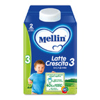 Mellin Latte Crescita 3 Liquido 500 ml Bottiglia da 500 ml ℮ su My Mellin Shop
