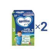 Latte Crescita Kit risparmio 2x Mellin Latte Crescita 3 in polvere KIT_2X_Confezione con 3 buste da 400 g ℮ su My Mellin Shop