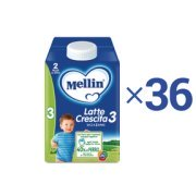 Kit convenienza latte Kit Convenienza Mellin Latte Crescita 3 Liquido 0,5 l 1 Kit = 36 Bottiglie da 500 ml ℮ su My Mellin Shop
