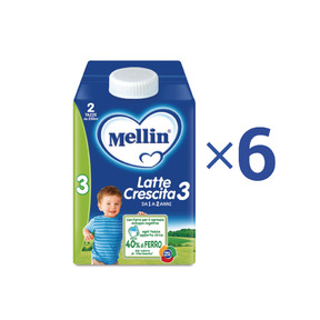 Latte Crescita Kit risparmio 6x Mellin Latte Crescita 3 Liquido 500 ml KIT_6X_Bottiglia da 500 ml ℮ su My Mellin Shop
