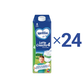 Kit convenienza latte Kit Convenienza Mellin Latte Crescita  4 Liquido 1 l 1 Kit = 24 Bottiglie da 1 l ℮ su My Mellin Shop