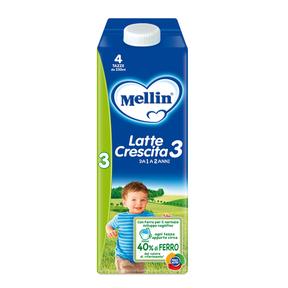 Latte Crescita Mellin Latte Crescita 3 Liquido 1 l Bottiglia da 1 l ℮ su My Mellin Shop