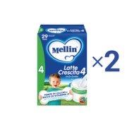 Latte Crescita Kit risparmio 2x Mellin Latte Crescita 4 in polvere KIT_2X_Confezione con 3 buste da 400 g ℮ su My Mellin Shop