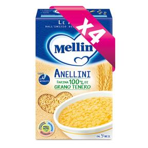 Pastine Kit risparmio 4x Anellini Kit risparmio 4x Anellini su My Mellin Shop