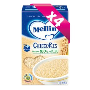 Pastine Kit risparmio 4x ChiccoRis Kit risparmio 4x ChiccoRis su My Mellin Shop