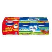 Omogeneizzati Carne Vitello Maxi Risparmio Confezione da 480 g ℮ (6 vasetti x 80 g) su My Mellin Shop