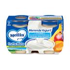 Merenda Frutta Mista Yogurt* Confezione da 240 g ℮ (2 vasetti x 120 g) su My Mellin Shop