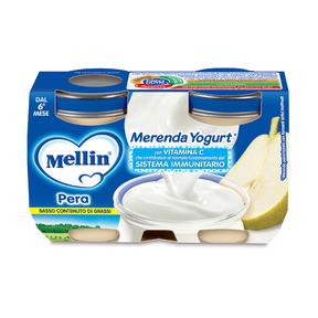 Merende Merenda Pera e Yogurt* Confezione da 240 g ℮ (2 vasetti x 120 g) su My Mellin Shop