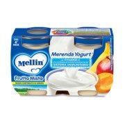 Merende Merenda Frutta Mista Yogurt* Confezione da 240 g ℮ (2 vasetti x 120 g) su My Mellin Shop