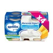 Merende Kit risparmio 4x Merenda Banana e Yogurt* KIT_4X_Confezione da 240 g ℮ (2 vasetti x 120 g) su My Mellin Shop
