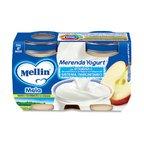 Merende Merenda Mela e Yogurt* Confezione da 240 g ℮ (2 vasetti x 120 g) su My Mellin Shop