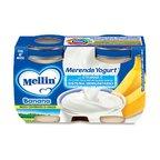 Merende Merenda Banana e Yogurt* Confezione da 240 g ℮ (2 vasetti x 120 g) su My Mellin Shop