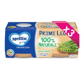 Omogeneizzati Verdure Kit risparmio 3x Primi Legumi KIT_3X_Confezione da 160 g ℮ (2 vasetti x 80 g) su My Mellin Shop