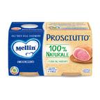 Omogeneizzati Carne Prosciutto* Confezione da 160 g ℮ (2 vasetti x 80 g) su My Mellin Shop