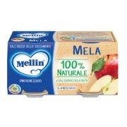 Omogeneizzati Frutta Mela Confezione da 200 g ℮ (2 vasetti x 100 g) su My Mellin Shop