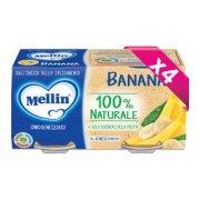 Omogeneizzati Frutta Kit risparmio 4x Banana KIT 4x Confezione da 200 g ℮ (2 vasetti x 100 g) su My Mellin Shop