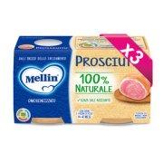 Omogeneizzati Carne Kit risparmio 3x Prosciutto* KIT_3X_Confezione da 160 g ℮ (2 vasetti x 80 g) su My Mellin Shop