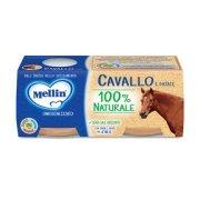 Omogeneizzati Carne Cavallo con Patate Confezione da 160 g ℮ (2 vasetti x 80 g) su My Mellin Shop