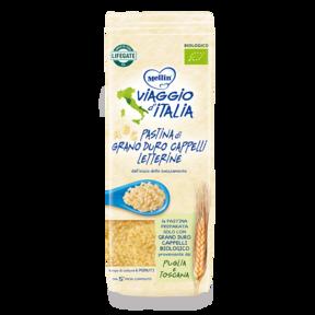 Creme e Pastine Bio - Viaggio d'Italia Letterine di Grano Duro Cappelli Confezione da 320 grammi e su My Mellin Shop